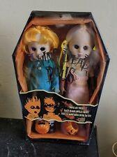 Mezco Living Dead Dolls Hemlock and Honey Trick & Treat Marz Exclusive Ldd Mib