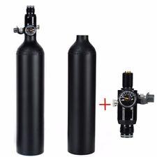 CE Black Aluminum Bottle 0.45L/4500psi High Compressed HPA Tank With Regulator
