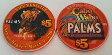 $5 Las Vegas Palms Sammy Hagar Rain Nightclub Casino Chip - Uncirculated
