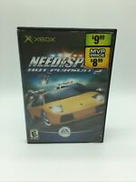 Need for Speed: Hot Pursuit 2 (Microsoft Xbox, 2002) No Manual Free Shipping