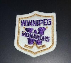 Winnipeg Monrachs Hockey Club, Vintage Patch
