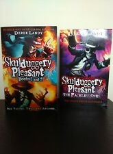 Skulduggery Pleasant, book 1and 2 (One Volume) & The Faceless Ones - Derek Landy