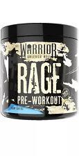 Warrior Rage Pre Workout Powder 45 Servings  BLAZIN'BLUE RAZZ