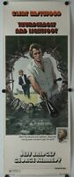 "Thunderbolt and Lightfoot 1974 Original Insert Movie Poster 14"" x 36"""