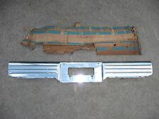 NOS GM 1964 Chevrolet Impala Bel Air Biscayne Rear Bumper License Filler Panel
