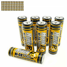 36 x AA 700mAh 1.2V NI-CD rechargeable battery CELL/RC MP3 2A KR6 HYPER Orange