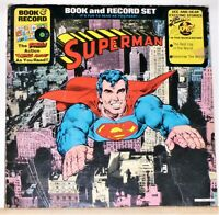 Superman - The Best Cop In The World / Tomorrow The World LP Record Album Book