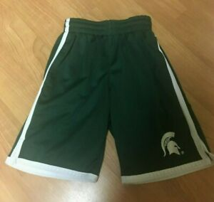 Michigan State Spartans Colosseum Basketball Athletic Shorts Youth Small 8-10