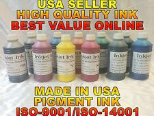 Any 7 pigment bulk ink from EPSON Stylus Pro 3880 refill cartridge inkjet tank