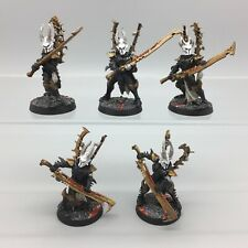 Games Workshop Warhammer 40,000 Dark Eldar drukhari METAL Incubi peint