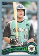2011 Topps Pro Debut Baseball Blue #316 Chris Dominguez 214/309