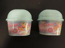 Num Noms Snackables Snow Cones Series 2- 2 each surprise fun toy lot
