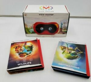 Mattel View-Master Virtual Reality Headset with Destinations & Wildlife packs