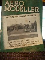 RARE AEROMODELLER APRIL 1939 # 41 MODEL AIRCRAFT MAGAZINE ALL ORIGINAL RTP