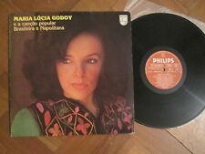 Maria Lúcia Godoy -  E A Canção Popular Brasileira E Napolitana - Brazilian LP