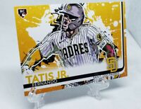 Fernando Tatis Jr All Eras Sports Custom Rookie Card Remix - White Jersey