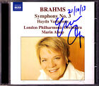 Marin ALSOP Signed BRAHMS Symphony No.3 Haydn Variations CD London Philharmonic