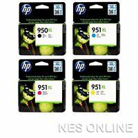 HP 950XL BLACK + 951XL C/M/Y High Yield Ink Set Officejet Pro 8100/8600+ CM750A
