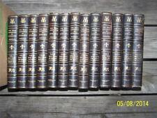 13 VOLUME SET THE REAL AMERICA IN ROMANCE by MARKHAM 1914 WISE Pub.