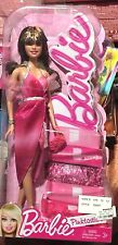 Pinktastic Barbie Kohl's Exclusive Brunette Barbie with Bangs Adorable Pink Dres