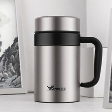 WAYA Thermos Cup Insulated Vacuum Travel Tumbler with Tea Infuser 14oz