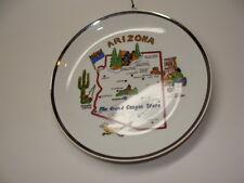Arizona Wall Hanging Decorative Plate Souvenir Art Decoration 7-Inch Diameter