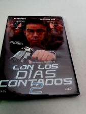 "DVD ""CON LOS DIAS CONTADOS 2 (RUNNING OUT OF TIME 2)"" COMO NUEVO JOHNNIE TO"