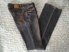 Aeropostale Blue Jeans Women's Size 0 Long Hailey Skinny Flare Curvy Fit Denim