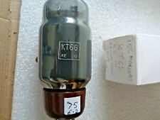 KT66 MARCONI GEC Gris Verre Marron Base KE10 new old stock Valve Tube 1pc SEP19