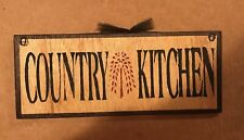 country kitchen willow tree primitive wall kitchen home decor wood  5x12 sign