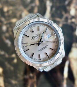 """A STUNNING GENTS 1991 ROLEX DATEJUST """"TURN-O-GRAPH"""" REF. 16264 STAINLESS STEEL"""