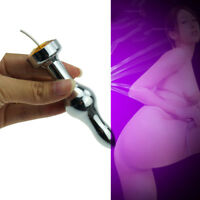 Men Electric Shock Therapy Anal_Butt_Plug sexy_toy,Penis Enlarger Extender Mediu