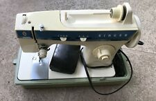 Vintage Singer Fashion Mate 288 Sewing Machine With Built In Case & Foot Pedal