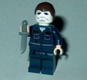 "MOVIE #03 Lego Classic Horror Halloween ""MICHAEL MYERS"" Custom NEW"