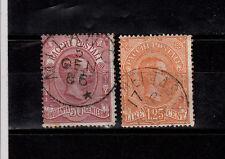 Italien   Paketmarken 3 und 5 sauber gestempelt,  siehe Scan