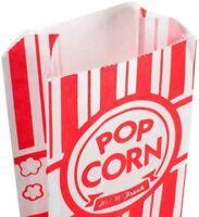 "Pine Paper Popcorn Bags,  3 1/2"" x 2 1/4"" x 8 1/4"" 1 oz,Pack of 50"
