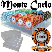 Brybelly Holdings Pre-Pack - 200 Ct Monte Carlo Chip Set in Acrylic Tray Case