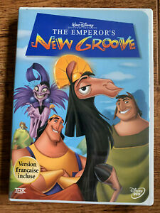 The Emperor's New Groove DVD 2000 Walt Disney Animated Movie Classic Region 1