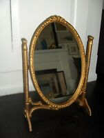 stunning original condition gold dressing table mirror 1950s