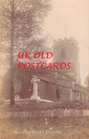 Leicestershire - PEATLING PARVA, Church, Real Photo