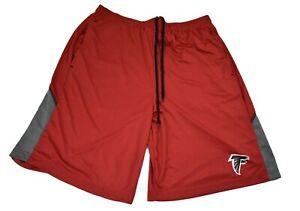 NFL Team Apparel Mens Atlanta Falcons TX3 Cool Performance Shorts S,M,L,XL,2XL