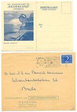 NEDERLAND S.M.N. 1933/1950  4 x  COVER / CARD   VF
