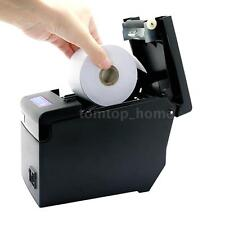 Hoin 58mm ESC/POS Dot Receipt Barcode Thermal Printer with Paper COM Black F3T4
