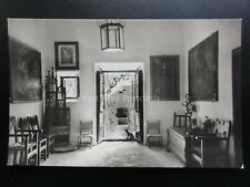 Spain: MALLORCA Valldenosa Cartuja showing Cat in Doorway - Old RP Postcard