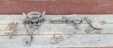 Lot of 4 Vintage Small Size Traps