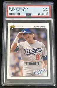 1992 Upper Deck Gary Carter #267 PSA 9