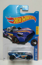 2016 Hot Wheels #5 Carbonic Racing Car HW Race Team 5/10 Blue Best for Track NEW