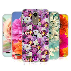 HEAD CASE DESIGNS FLOWERS SOFT GEL CASE & WALLPAPER FOR LG PHONES 1