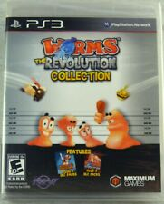 Worms Revolution Collection PS3 New PlayStation 3, Playstation 3