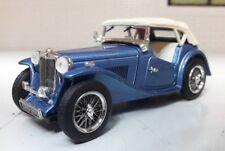 1:43 Dettagliato Scala Modello 1945-50 Mg TC Midget Chiuso Top Clipper Blu